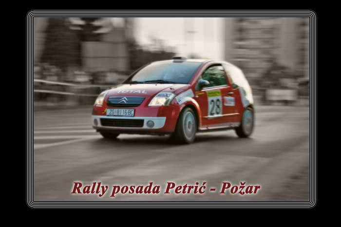 Rally posada Petrić Požar